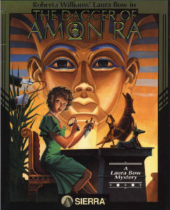 The Dagger of Amon Ra Box Art
