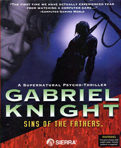 Gabriel Knight Box Art
