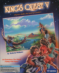 King's Quest V Box Art
