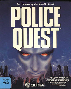 Police Quest 1 Box Art