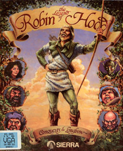 Robin Hood: Conquests of the Longbow Cover Art