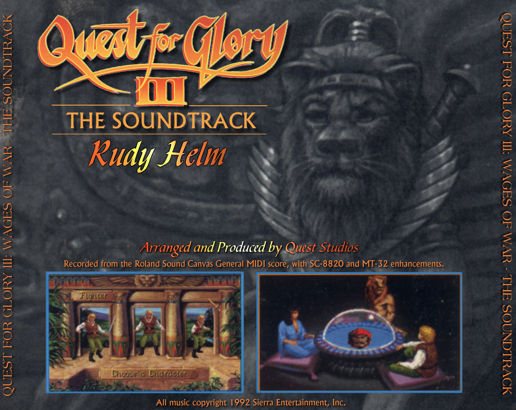 Quest for Glory III « The MIDI Music Adventure Show!