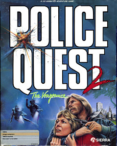 Police Quest II Cover