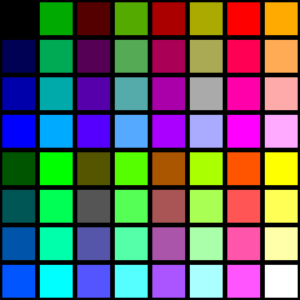 EGA Color Palette