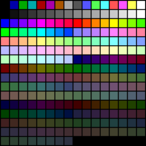 VGA Color Palette