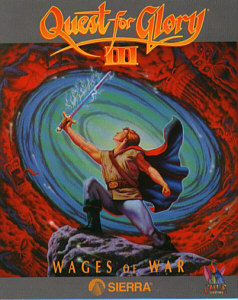 Quest for Glory III Box Arta