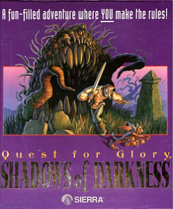 Quest for Glory IV Box Art