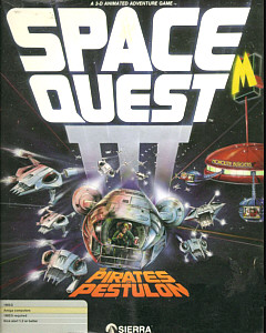 Space Quest III Box Art
