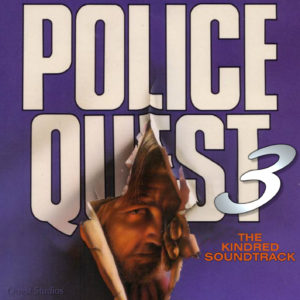 Police Quest III Front CD Cover